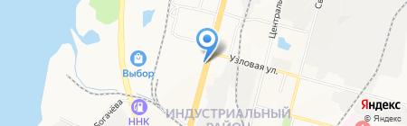 КарМэн на карте Хабаровска