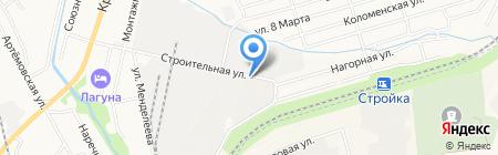 Редан ДВ на карте Хабаровска
