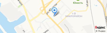 Судоверфь на карте Хабаровска