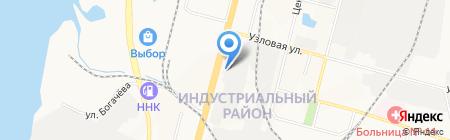 Проект-ДВ на карте Хабаровска