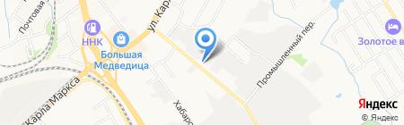 СПСР-Экспресс на карте Хабаровска