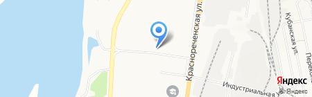 Мотор 27 на карте Хабаровска
