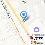 Магистраль-ДВ на карте Хабаровска