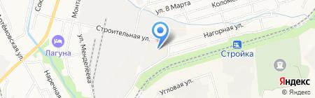 ТехноТранс ДВ на карте Хабаровска