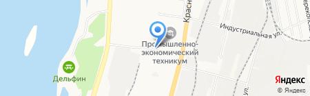 Анкер-ДВ на карте Хабаровска