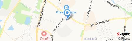 Мебельный салон на карте Хабаровска