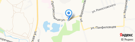Сервис+ на карте Хабаровска