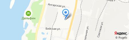 Супермаркет ДВ на карте Хабаровска