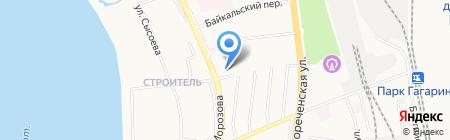 Японочка на карте Хабаровска