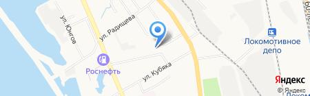 Солнечный Дом на карте Хабаровска