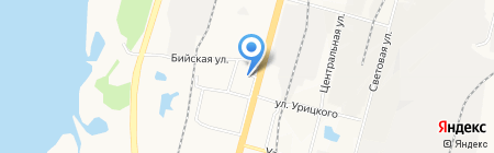 Банкомат Восточный экспресс банк на карте Хабаровска