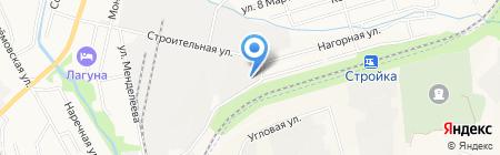 Буджак на карте Хабаровска
