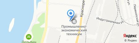 ГСПК №370 на карте Хабаровска