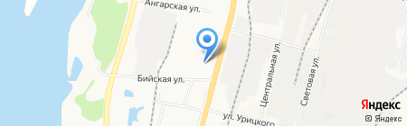 Восток Мед на карте Хабаровска