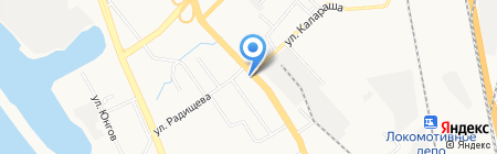 Магазин электротоваров на карте Хабаровска