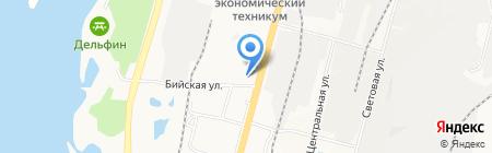 РайON на карте Хабаровска