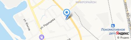 РОСДОРНИИ на карте Хабаровска
