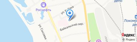 Аптекарь на карте Хабаровска