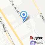 ГлавДоставка на карте Хабаровска
