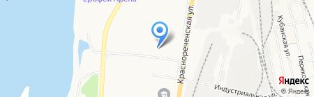 АВАНТ на карте Хабаровска