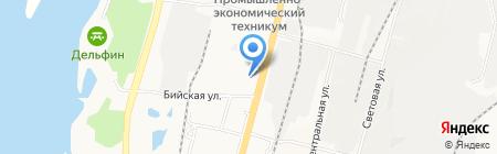 АЗИЯ Комтранс на карте Хабаровска