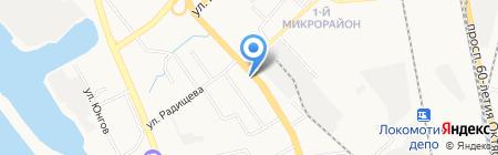 Гранат на карте Хабаровска