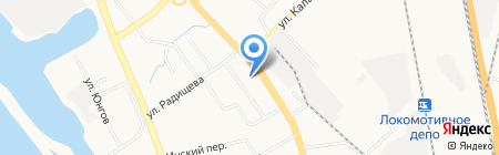 Родничок на карте Хабаровска