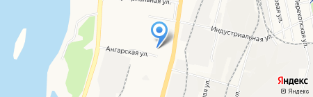ВостокТоргКомплект на карте Хабаровска