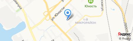 Детская библиотека на карте Хабаровска