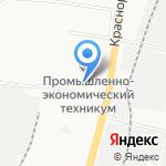 Промснаб на карте Хабаровска