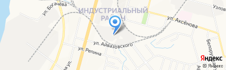 Интеравто на карте Хабаровска