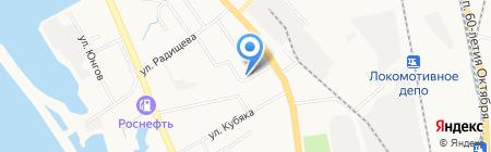 Хабаровское отделение филиала Сибирский территориальный округ на карте Хабаровска