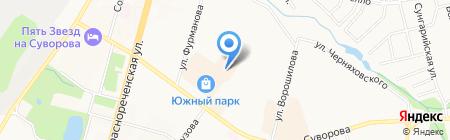 The Room на карте Хабаровска