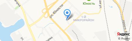 Детский сад №181 на карте Хабаровска