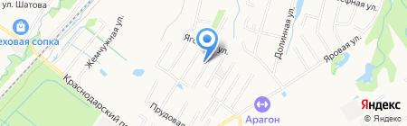 Цветик-Семицветик на карте Хабаровска