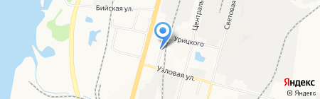 Таис на карте Хабаровска