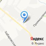 АТЛ-Экспедиция на карте Хабаровска