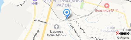 РСУ-ДВ на карте Хабаровска