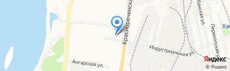 Хабаровское районное потребительское общество на карте Хабаровска