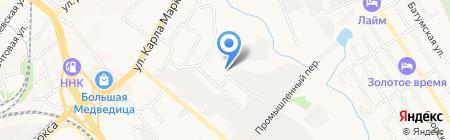 Десятка на карте Хабаровска