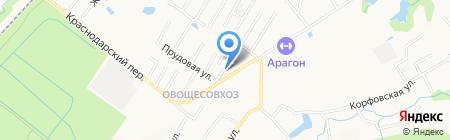 Компания ВИССА на карте Хабаровска