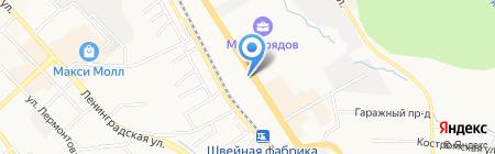 Росгосстрах на карте Хабаровска