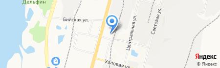 Снабженец на карте Хабаровска