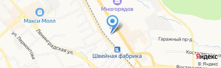 TOP AUTO на карте Хабаровска