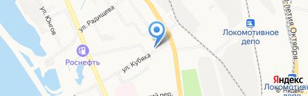 Банкомат Банк УРАЛСИБ на карте Хабаровска