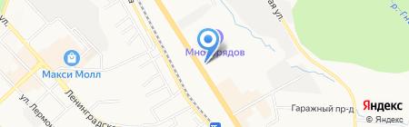 ДСЛ-Строй на карте Хабаровска