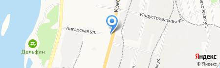 Левист на карте Хабаровска