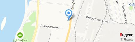 ХПЭТ на карте Хабаровска