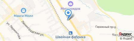 Восточные комплексные системы на карте Хабаровска