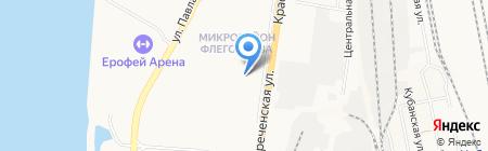 Лолита на карте Хабаровска